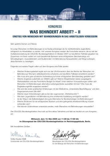 was behindert arbeit? - Deutsche Gesellschaft der Hörgeschädigten