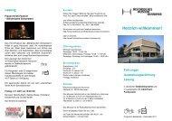Führungen, Ausstellungseröffnung und Lesung im ... - Taubenschlag