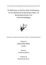 Zur Bedeutung von Sprache, Musik und Bewegung ... - Taubenschlag
