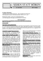 1607. Sendung - Taubenschlag