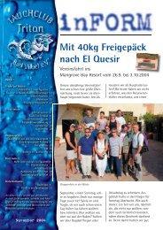 Mit 40kg Freigepäck Mit 40kg Frei nach El Quesir - Tauchclub Triton ...