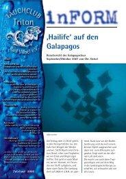 'Hailife' auf den Galapagos - Tauchclub Triton - Bad Vilbel eV