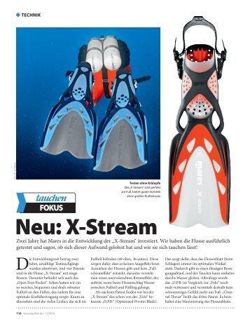 """Mares """"X-Stream"""" - Tauchen"""