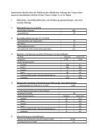 Statistischer Bericht über die Erfüllung des öffentlichen Auftrags der ...