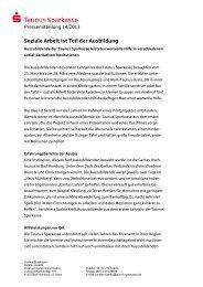 14_Sozialprojekt aktualisiert - Taunus Sparkasse