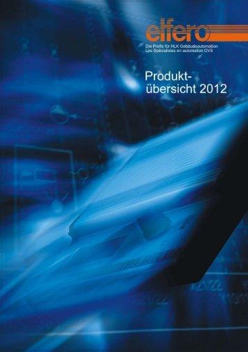 Produktübersicht 2012 - elfero AG
