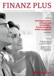 Das Privatkunden-Magazin - Taunus Sparkasse