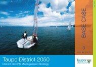 Volume 3 - Taupo District Council
