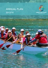 2013/14 Annual Plan (5.5Mb PDF) - Taupo District Council