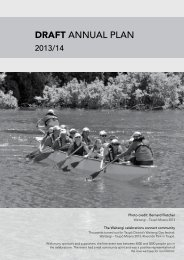 Draft Annual Plan 2013/14 (10Mb PDF) - Taupo District Council