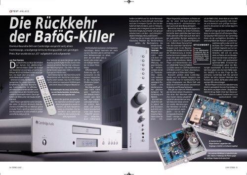 Cambridge Audio Azur 640A V2 & 640C V2 Stereo 02/2007