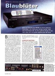 Cambridge Audio Azur 751BD Stereo 10/2011