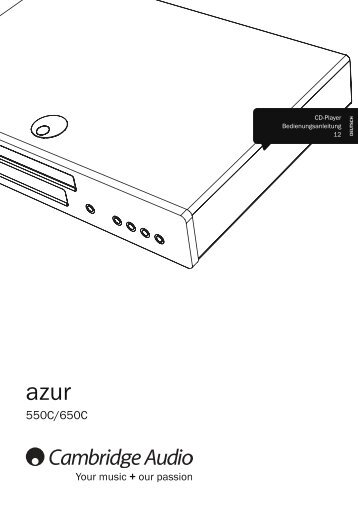 Cambridge Audio Azur 550C