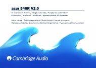 AP191181 azur 540R V2.0 User's Manual - taurus high-end gmbh