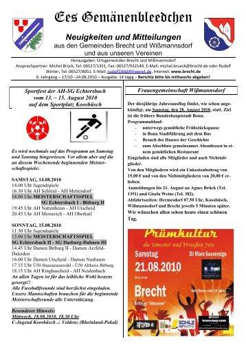 Neuigkeiten und Mitteilungen - BRECHT.DE online