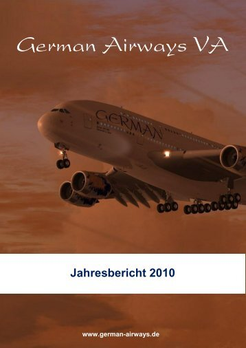 Jahresbericht 2010 - German Airways