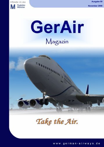 GerAir Magazin 2 Ausgabe 69 November 2008 - German Airways