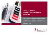 Verslag; alert op BTW bij grensoverschrijdende diensten - Robert Half