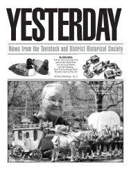 to download the PDF file. - Tavistock & District Historical Society