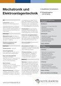 Mechatronik und Elektroanlagentechnik (pdf, 280K) - Seite 2