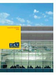 faaliyet raporu 2008 - Tav Yatırımcı İlişkileri