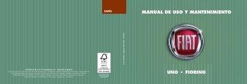 MANUAL DE USO Y MANTENIMIENTO 5./ - Fiat Professional