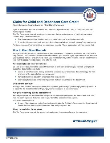 2011 Form 3506 -- Child and Dependent Care Expenses Credit