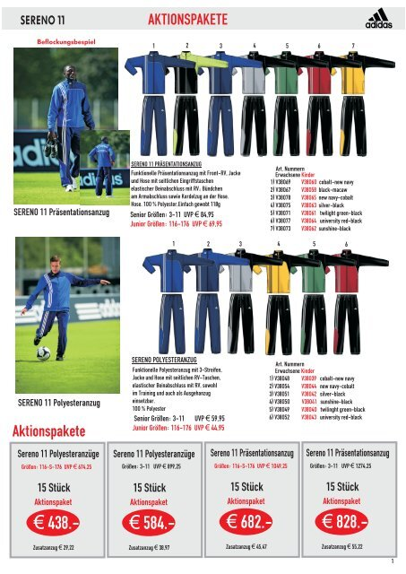 ADIDAS SERENO 11 ANZUGPAKET.cdr Burdenski Sportswear