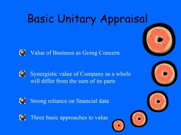 Appraisal Approaches - Oklahoma Tax Commission