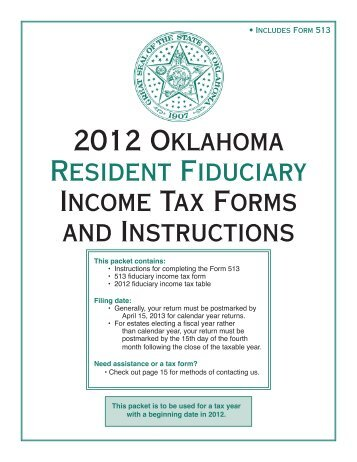2010 New Mexico Fiduciary Income Tax Instructions Form Fid 1