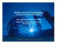 Global Low Cost Truck Market - Taxi