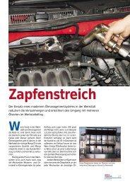 Zapfenstreich - Autohaus