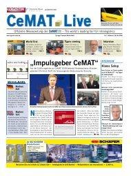 """""""Impulsgeber CeMAT"""" - Taxi"""