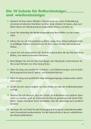 Die 10 Gebote für Rollereinsteiger und ... - OmnibusRevue