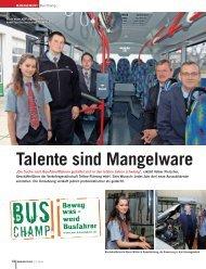 Talente sind mangelware - verkehrsRUNDSCHAU.de