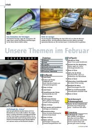 Unsere Themen im Februar - Taxi