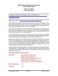 Multilaterale und Bilaterale Vereinbarungen (ADR ... - Taxi