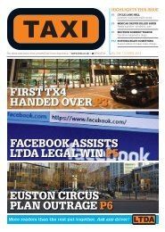 Issue 290 - TAXI Newspaper