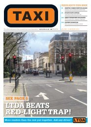 Issue 288 - TAXI Newspaper