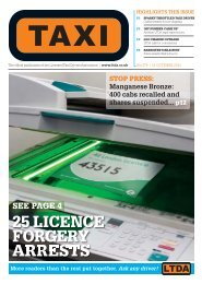 Issue 279 - TAXI Newspaper