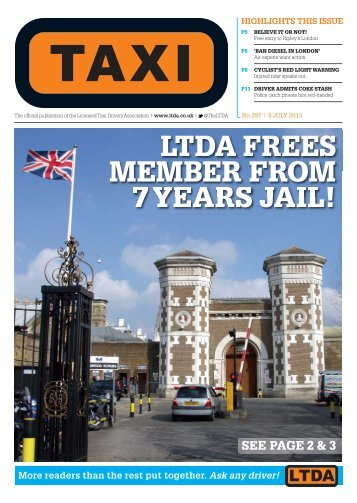 to download the latest issue - TAXI Newspaper