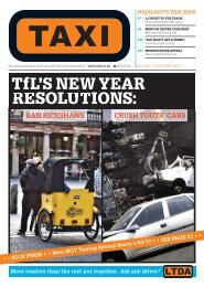 Issue 284 - TAXI Newspaper