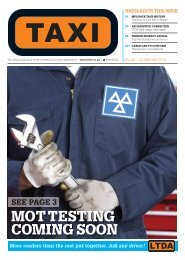 Issue 285 - TAXI Newspaper