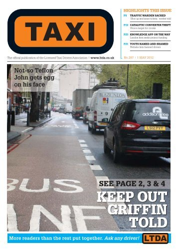 NEWS - TAXI Newspaper