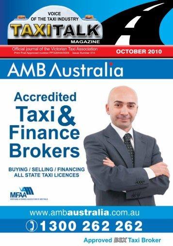 OCTOBER 2010 - Taxi Talk Magazine