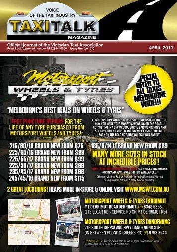 Download (10 MB) - Taxi Talk Magazine
