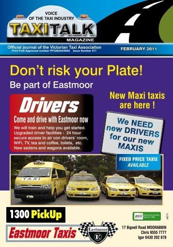 Drivers - Taxi Talk Magazine