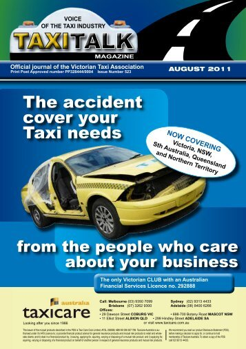 VOICe OF The TAxI - Taxi Talk Magazine