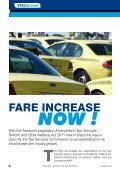VOICe OF The TAxI - Taxi Talk Magazine - Page 4