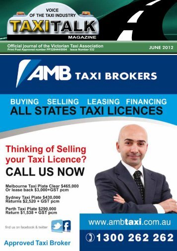 June 2012 - Taxi Talk Magazine